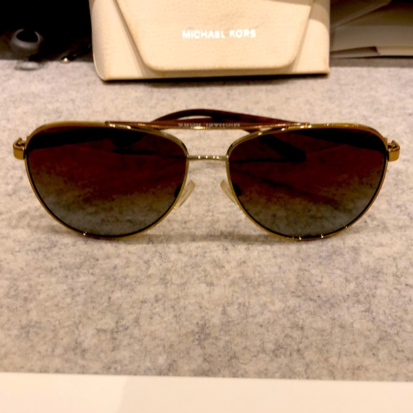 Michael Kors polarized sunglasses with case